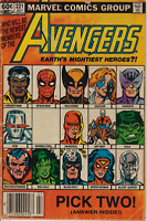 Avengers Vol 1 #221 Marvel Comics 1982 VG/FN