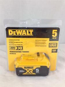 NEW Dewalt DCB205 20V Max XR Fuel Gauge Battery 5.0Ah NR