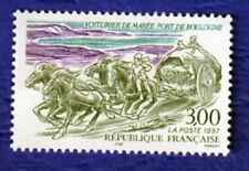 TIMBRE FRANCE 1997 VOITURIER DE MARÉE PORT DE BOULOGNE NEUF
