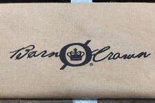 Born Crown Camel Brown Storage Pouch Drawstring Dust Bag