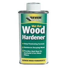 EVERBUILD WET ROT WOOD HARDENER 250ML REPAIRS DAMAGED WOOD
