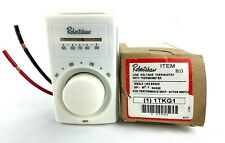 Robertshaw 803 Line voltage Thermostat With Thermometer 50-90 Degree Range