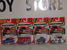 MATCHBOX ST/4 1/64 # 6, 3, 2, 1.-2002 SERIES