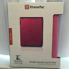 NEW, Microshield XtremeMac Durable Ultra-Thin Case for iPad 2,3 4 - PINK