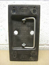 Cutler Hammer CH 100-Amp 100A Main Fuse Holder Pullout Pull Out Cartridge Used