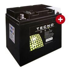 Motorrad TECNO Gel Batterie 53030 für Moto Guzzi T 850, T3 850, T4 850, T5 850