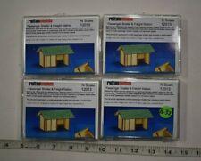 Lot 8-32 * N Scale Reiten Models Wood Lasercut Kits, 4 x Passenger Shelter