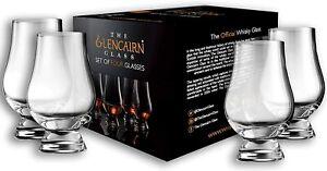 Glencairn Whisky Glass, Set of 4 in 4 Pack Gift Carton