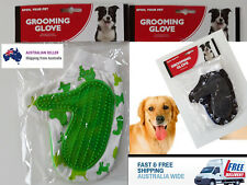 Pet Grooming Glove Deshedding brush for cat dog bath hair massage hand cleaning