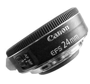 Canon EF-S 24mm f/2.8 STM Lens. Mint.