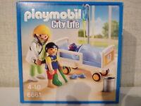 Playmobil City Life 6661 Ärztin am Kinderkrankenbett - Neu & OVP