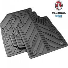 New Genuine Vauxhall Mokka & Mokka X Set Of 4 Rubber Floor Mat Set 39026743
