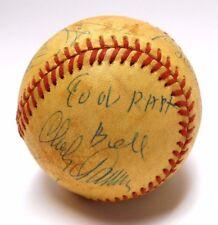 Cool Papa Bell Tony Gwynn Tom Lasorda 1984 All Star Signed Autographed Baseball