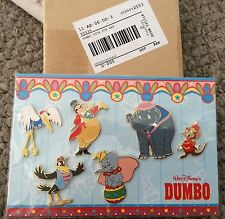 Disney 65th Anniversary Dumbo Stork Mrs Jumbo Crow Dumbo Pin set of 6 LE