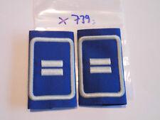 Rot Kreuz Rangabzeichen Schlaufen  1 Paar (x739)