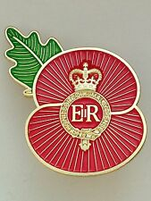 The Household Cavalry Regiment Remembrance Poppy Lapel Pin (HCAV)