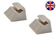 2x FOR VAUXHALL / OPEL VECTRA A ASTRA F CORSA B SUN VISOR MOUNT BRACKET CLIP P76