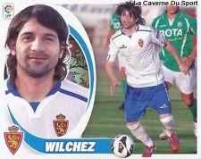 11 WILCHEZ ARGENTINA REAL ZARAGOZA Asteras STICKER CROMO LIGA 2013 PANINI