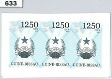 GUINEA BISSAU - ERROR, 2011 IMPERF SHEET: FLAGS