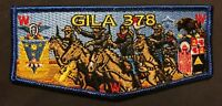 GILA OA LODGE 378 BSA YUCCA COUNCIL TX NM COWBOYS US ARMY BUFFALO SOLDIERS FLAP