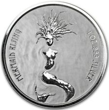 2018 ~ FIJI ~ .999 PURE SILVER ~ MERMAID RISING COIN ~ MINT CAPSULE ~ $9.99 ~BID