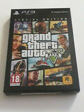 Grand Theft Auto V -- Special Edition with Steelbook New & Factory Sealed PS3