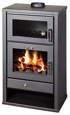 Estufa de leña con INTEGRAL Hervidor y horno 20kw para Central Calefacción