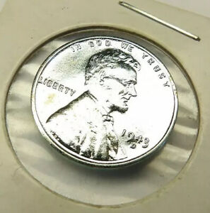 1943-D Lincoln Wheat Penny Cent Uncirculated Coin + FREE SHIPPING