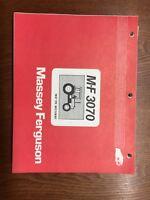 Massey Ferguson MF 3070 Tractor Parts Catalog Manual