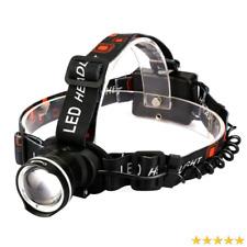 10000LM CREE XML T6 LED Hunting Biking Camping 18650 ZOOM Headlamp Headlight HOT