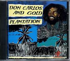 Music CD Don Carlos Plantation Gold Reggae Roots