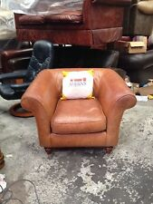 Laura Ashley Leather Home Office/Study Armchairs