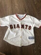 Baby MLB San Francisco Giants Orange White SS Jersey 18M Majestic Cool Base