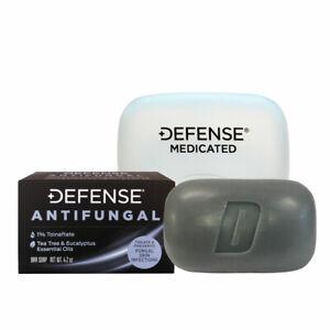 DEFENSE | Antifungal Medicated Bar Soap | FREE Soap Dish | FDA Approved!