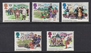 Great Britain SG 1834-1838 XF U/M 1994 Summertime Festivals Set of 5