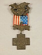 Antique United States Spanish American War Veterans Medal 1898-1902