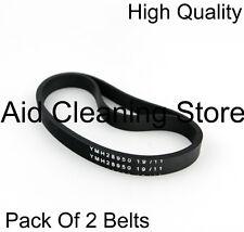 Tesco Hoover YMH29694 BRUSH BAR ROLLER DRIVE Belt Rubber Band Pack Of 2