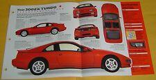 1991 1992 1993 1990 Nissan 300ZX Twin Turbo 2960cc V6 IMP Info/Specs/Photo 15x9