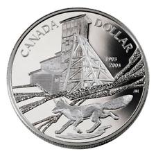 2003 Canada $1 BU Silver Dollar Cobalt Silver Strike