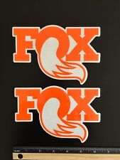 (2) NEW Fox Shox decals Fox off road stickers FREE SHIP