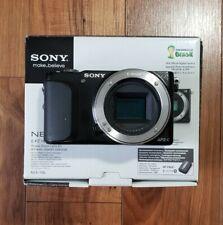 Sony Alpha NEX-3N 16.1MP APS-C Camera + Vintage 50mm F2 Prime Lens + MD Adapter