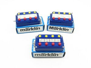 MARKLIN LOT 3 BOITIERS DE COMMANDE INTERRUPTEUR REF. 7210