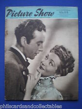 Picture Show magazine - Sept. 2nd  1950 - Dennis Price & Gisele Preville