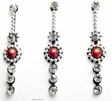 Crystal Silver Indian Jewellery