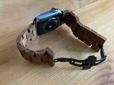 Apple Watch Woodcessories Ecostrap Armband aus Wallnuss (Echtholz)