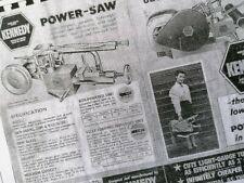 Kennedy power hacksaw manual brochure