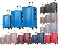 3tlg Hartschalenkoffer Reisekoffer Set Kofferset Trolley Koffer 20-28 Zoll 1692