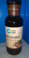 Chung Jung One Korean BBQ Bulgogi Sauce & Marinade for Beef 17.6 Oz