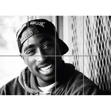 2Pac Tupac Shakur Rapper Poet Actor Activist Legend Music Giant Art Poster