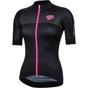 Pearl iZumi Women's Pro Pursuit Speed Jersey Black Diffuse Size Small P R O
